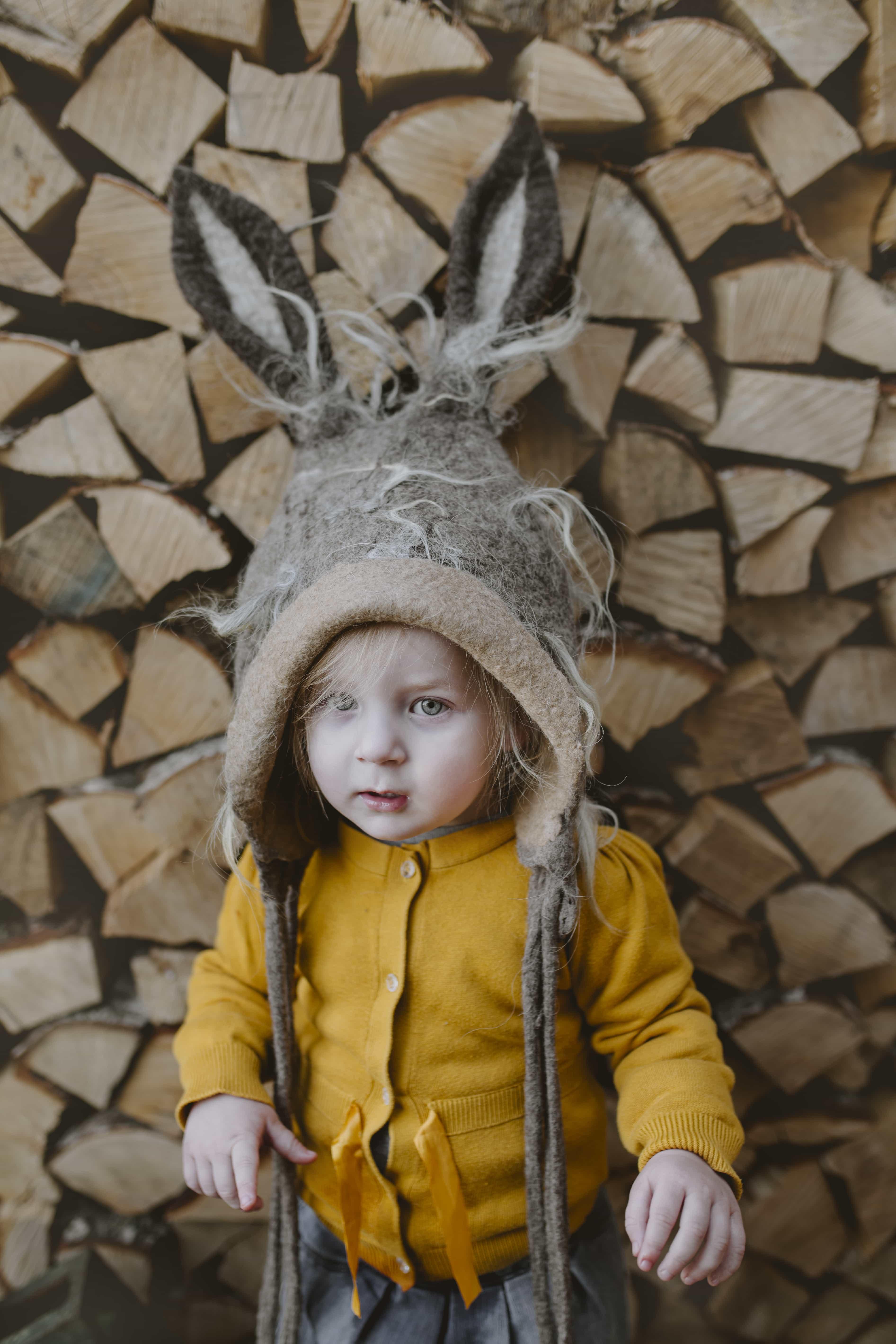 czapka zajączka