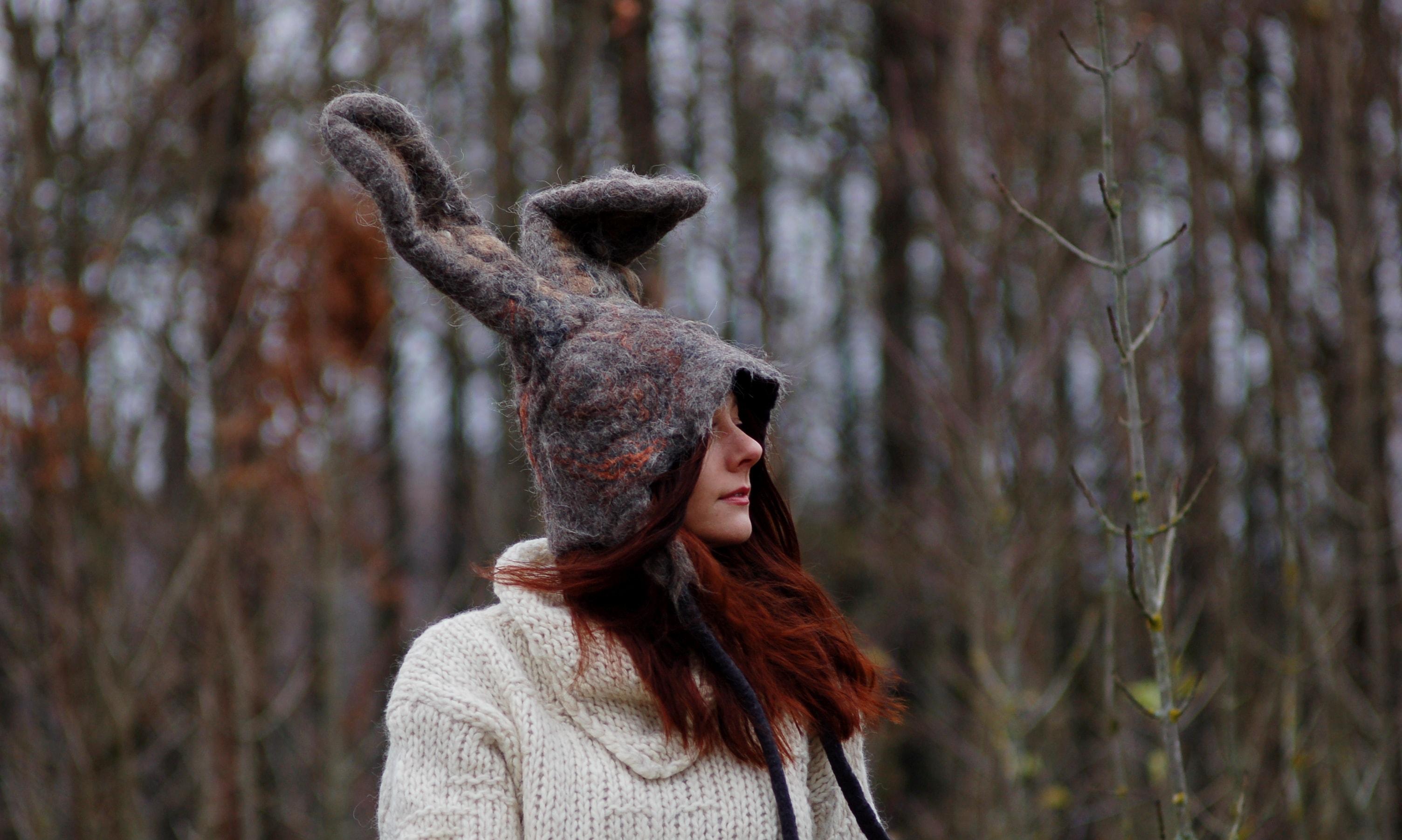 czapka zająca