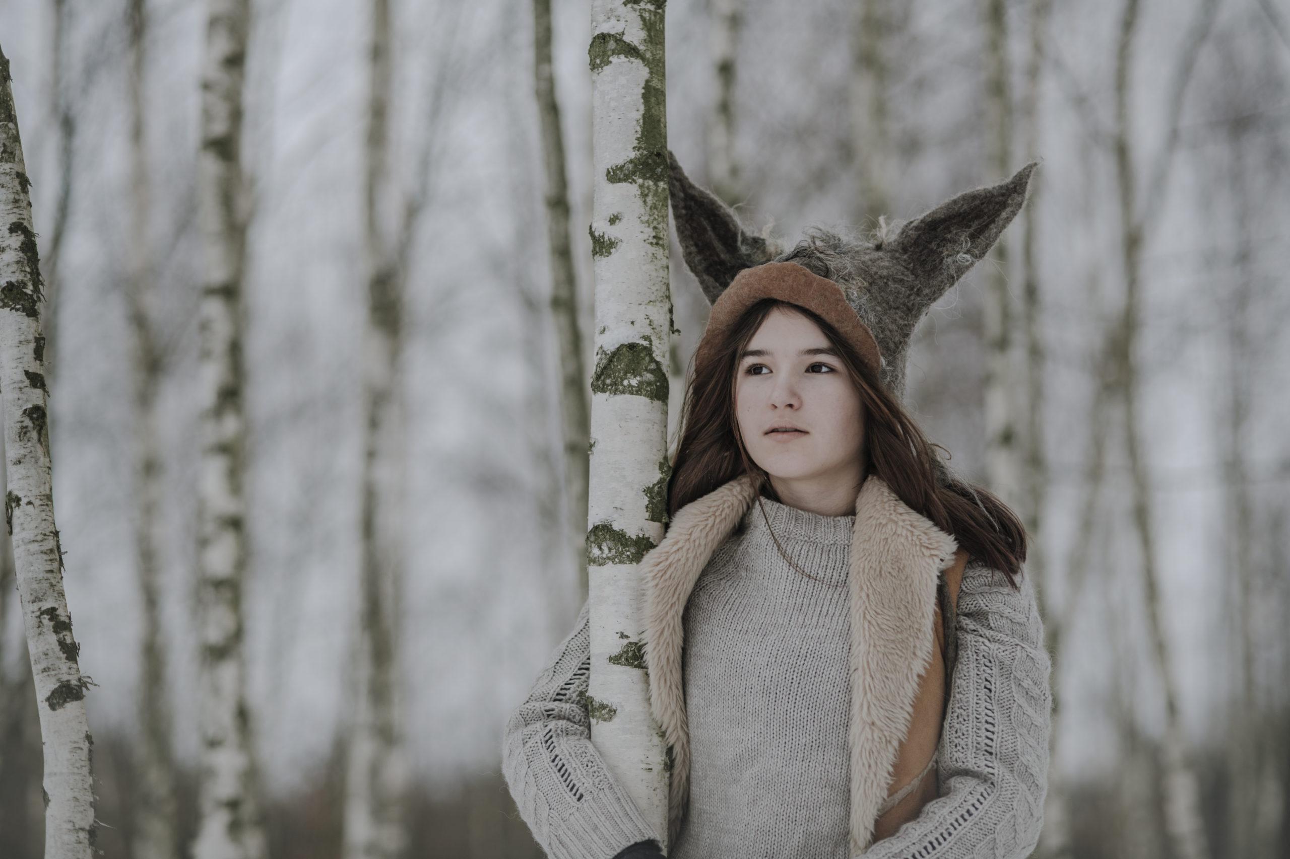 czapka z uszami wilka-slide