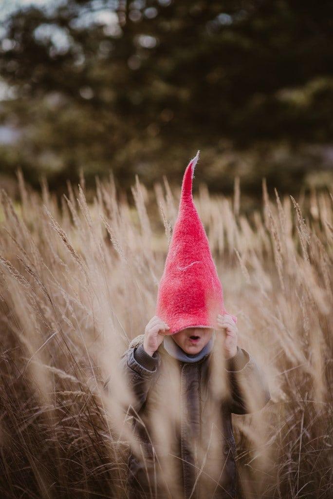 czapka czerwonego krasnala czapka elfa