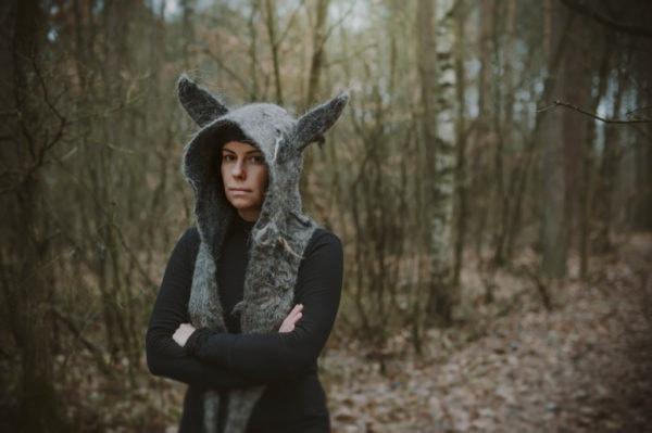 wilczy kaptur