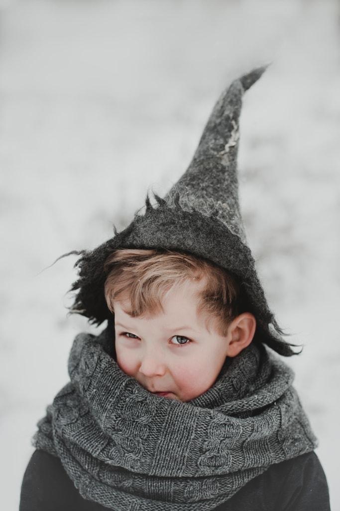 czapka czarodzieja dla dzieci