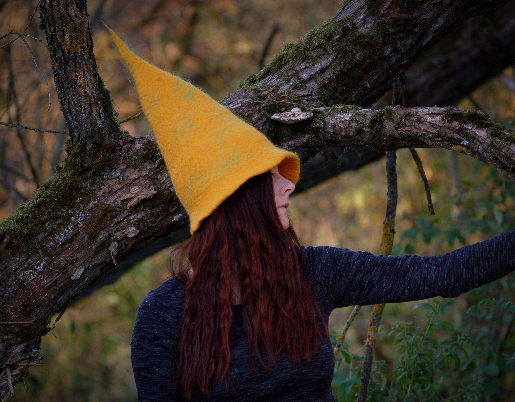czapka czarownicy